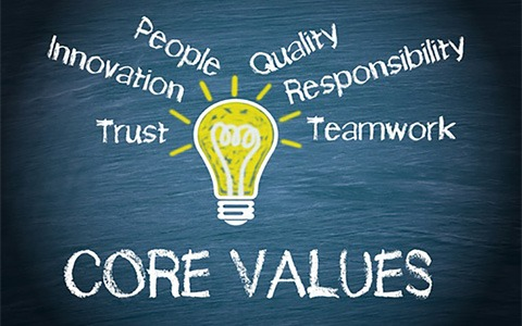 Core Values of Your Professional Service Company